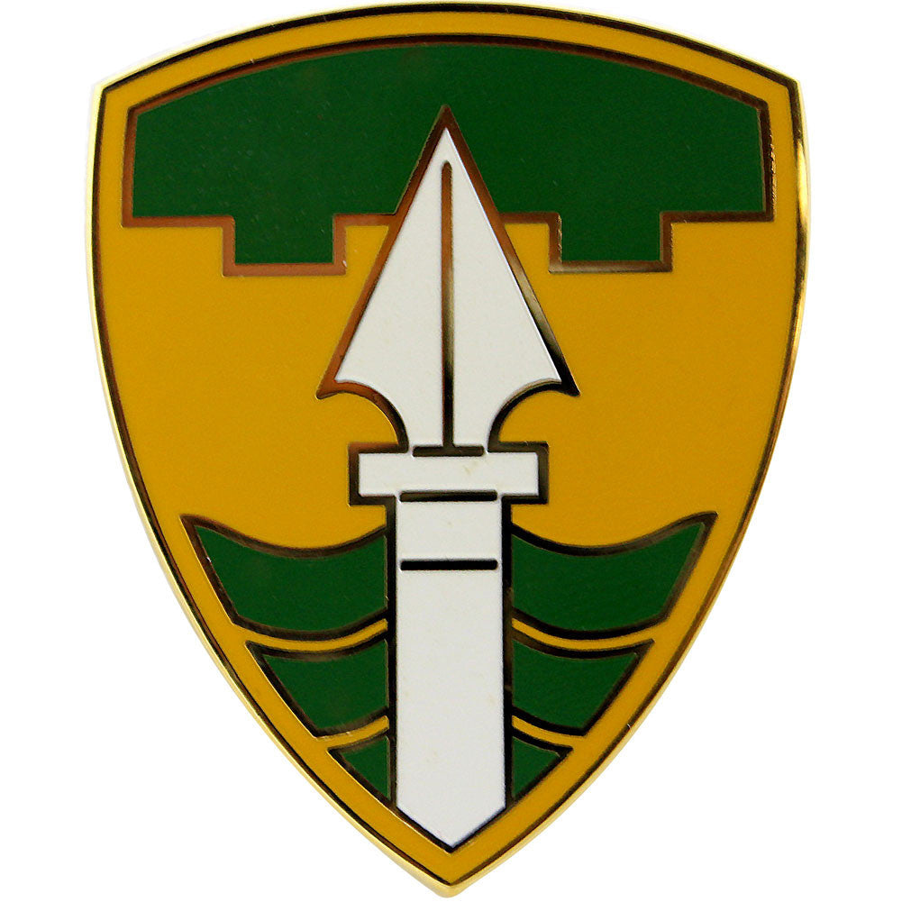 43rd Military Police Brigade Combat Service Identification Badge