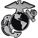 U.S. Marine Corps Eagle Globe and Anchor Chrome Auto Emblem