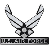 U.S. Air Force Hap Arnold Wings Chrome Auto Emblem
