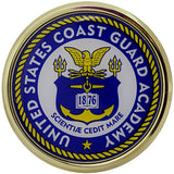 U.S. Coast Guard Academy Chrome Auto Emblem