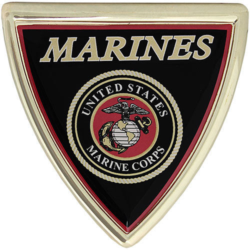 U.S. Marine Corps Shield Chrome Auto Emblem