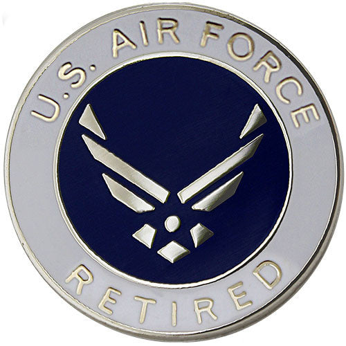 Air Force Retired with Hap Arnold Wings 3/4