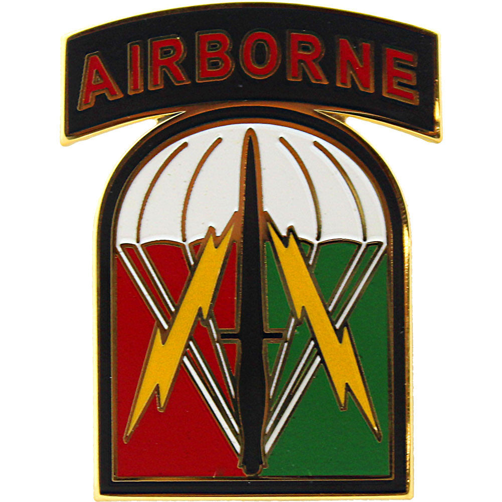 528th Sustainment Brigade Combat Service Identification Badge