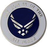 My Son is in the Air Force with Hap Arnold Wings 1