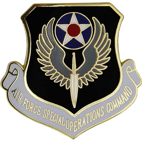 Air Force Special Operations Command Shield 7/8