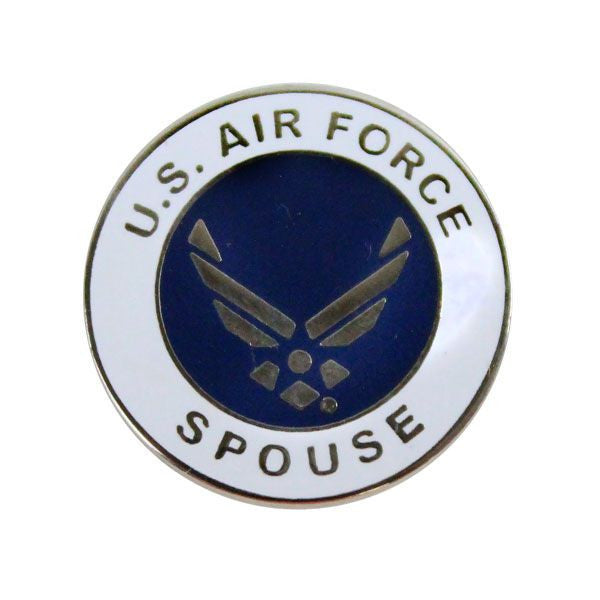 Air Force Spouse with Hap Arnold Wings 7/8