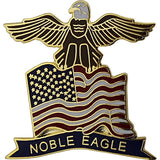 American Flag Eagle with Noble Eagle Banner 1
