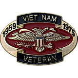 Vietnam Veteran 1959-1975 Commemorative 1 1/4