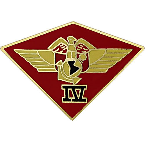 Marine Corps 4th Marine Aircraft Wing 1 3/8