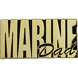 Marine Corps Dad Gold on Black 1