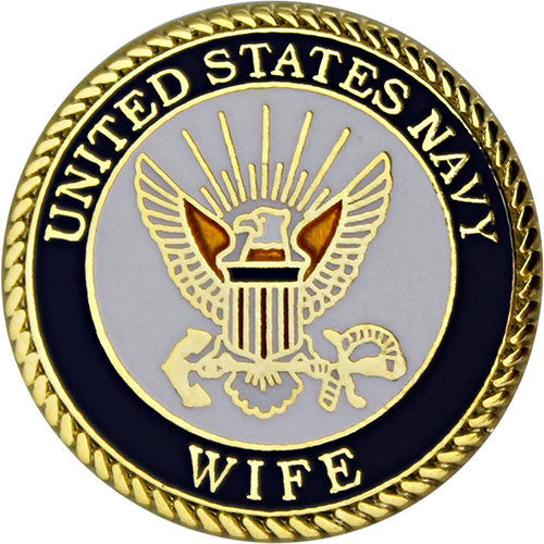 Navy Wife with Crest 3/4