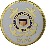 Coast Guard Wife with Crest 3/4
