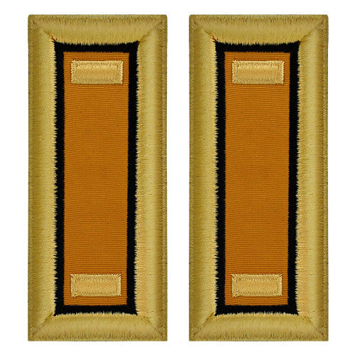 Army Female Shoulder Straps - Electronic Warfare-O-2 1st Lieutenant