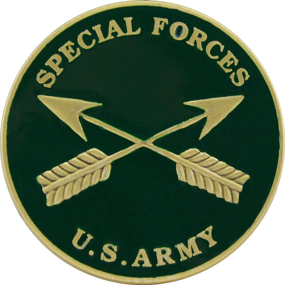 U.S. Army Special Forces Coin - Front