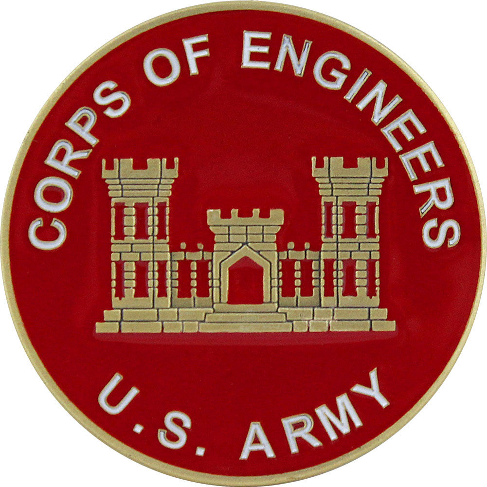 U.S. Army Corps of Engineers Coin - Front