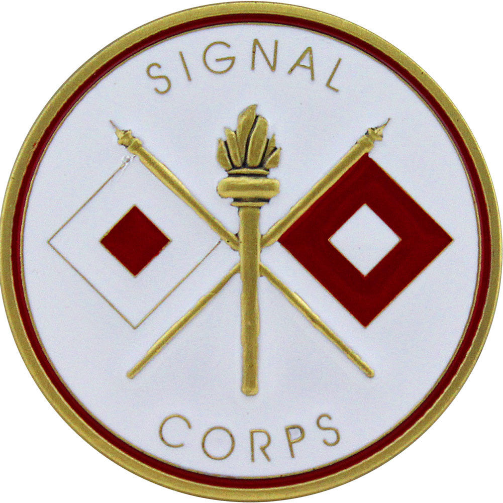 U.S. Army Signal Corps Coin - Front