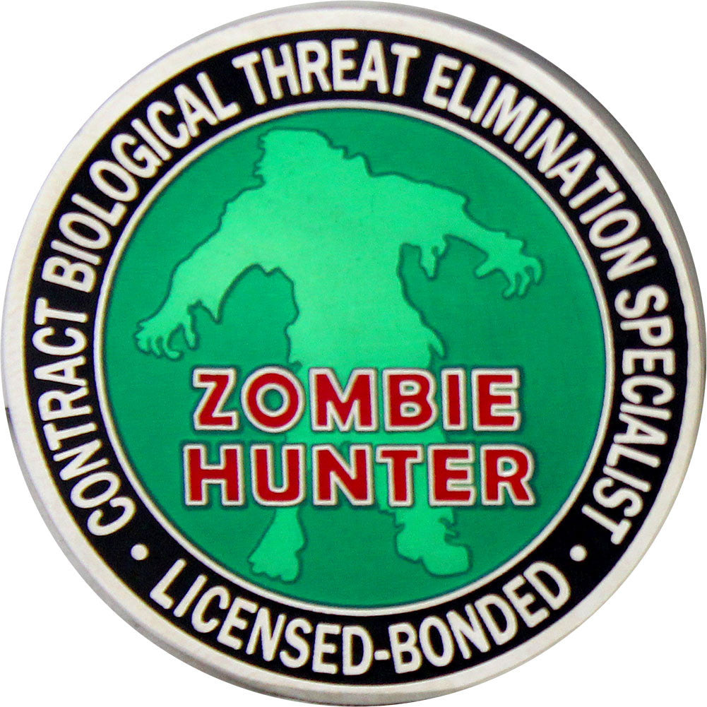 Zombie Hunter Coin - Front