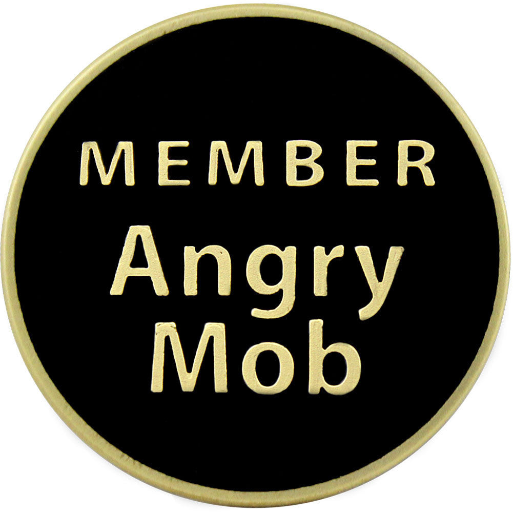 Don't Tread On Me Angry Mob Coin - Front