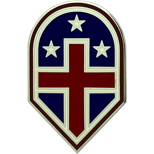 332nd Medical Brigade Combat Service Identification Badge