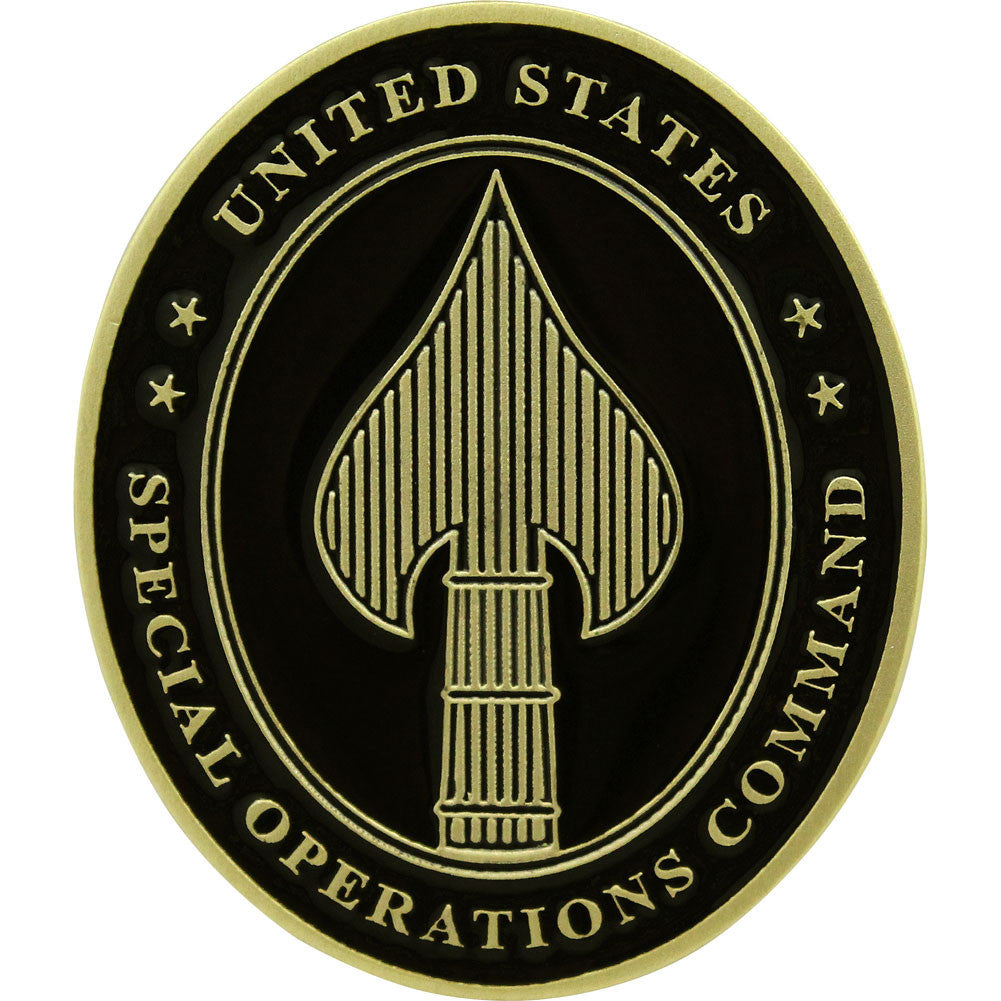 Special Operations Command Coin - Front