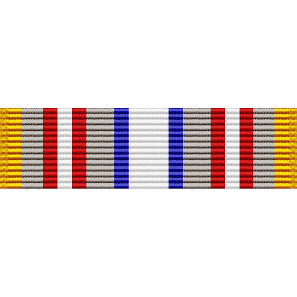 Louisiana National Guard Counter Drug Service Ribbon