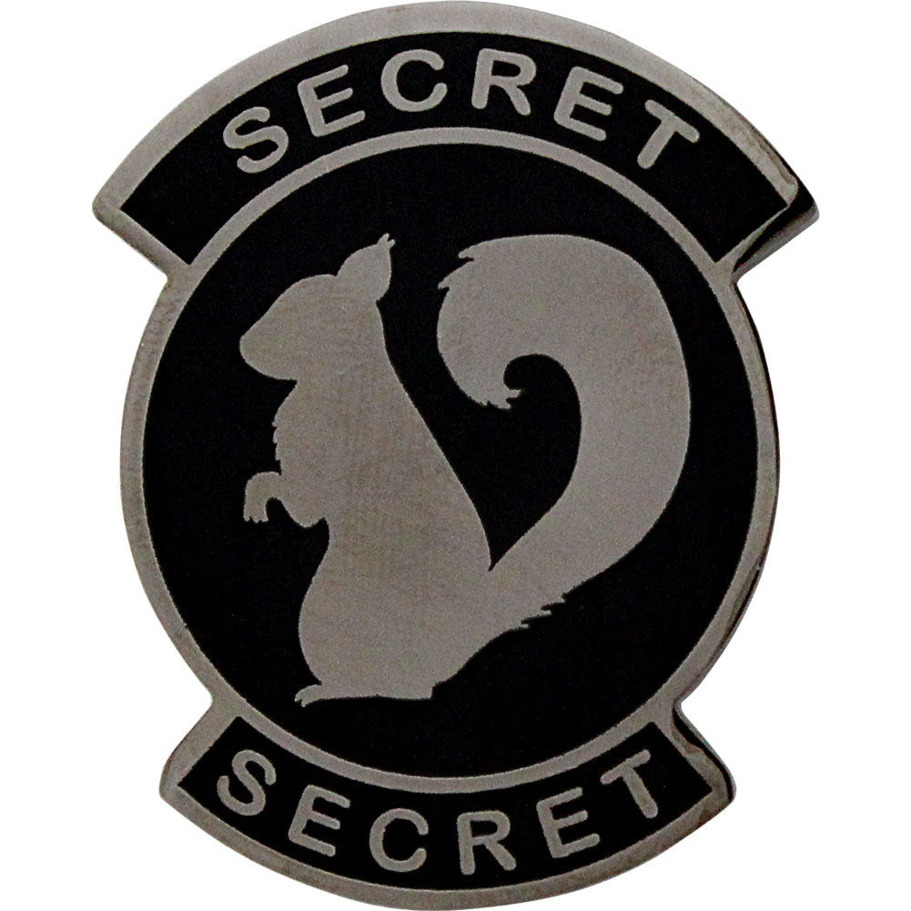Secret Squirrel Coin - Front
