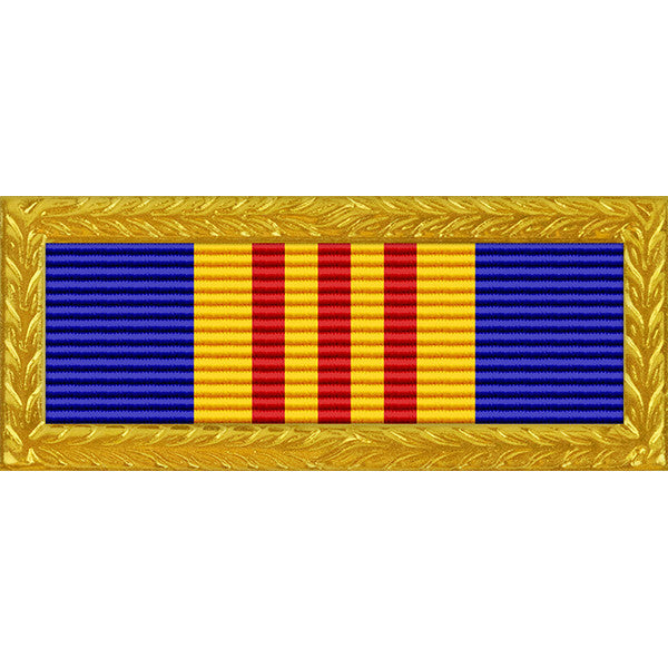 New Jersey National Guard Unit Strength Ribbon with Large Frame