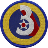WWII Army Air Corps 3rd Air Force Class A Patch