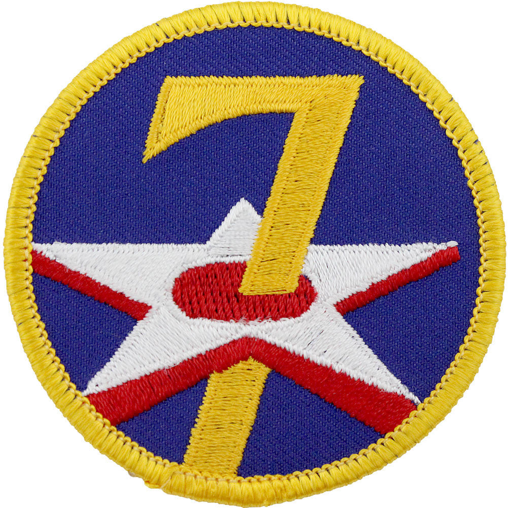 WWII Army Air Corps 7th Air Force Class A Patch