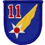 WWII Army Air Corps 11th Air Force Class A Patch