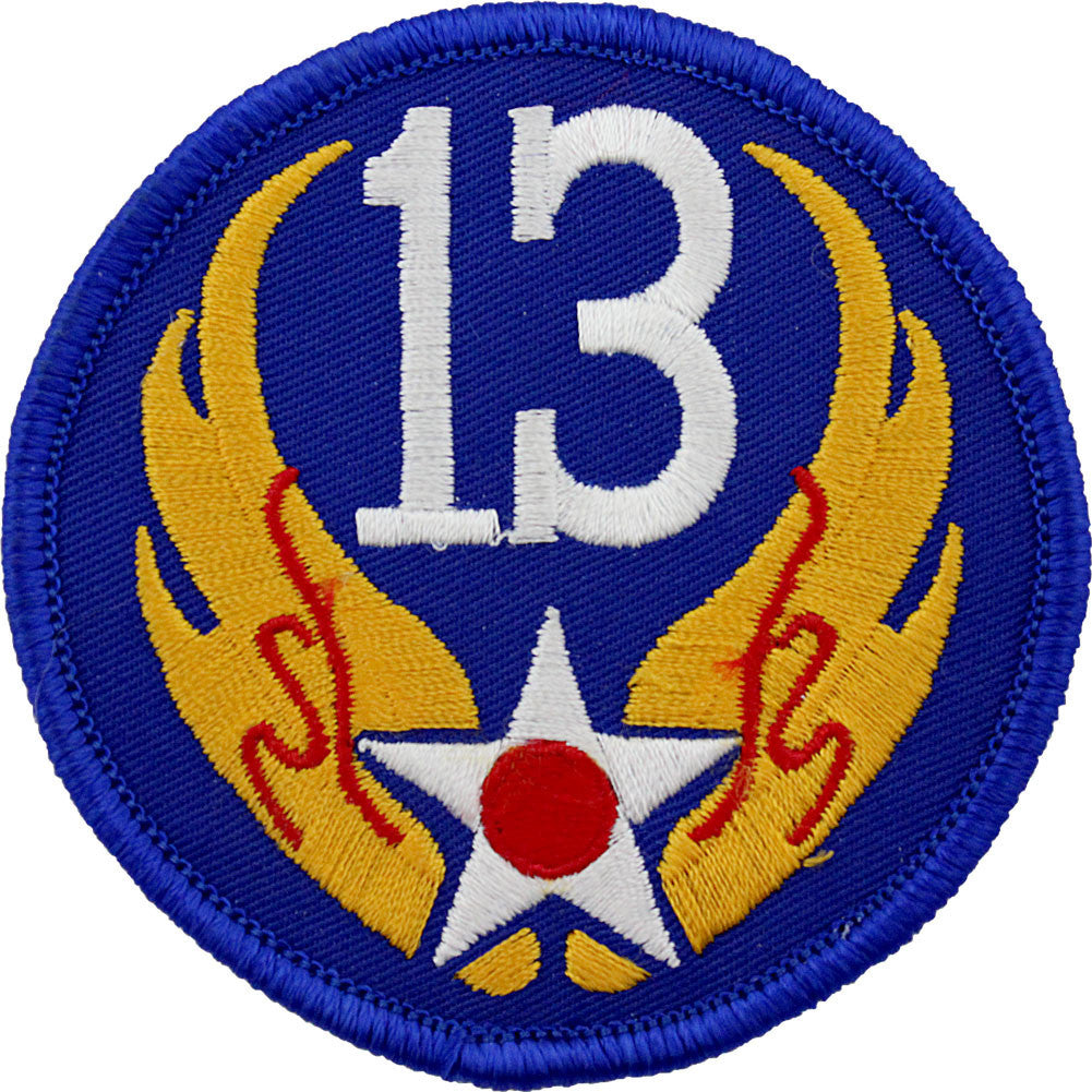 WWII Army Air Corps 13th Air Force Class A Patch