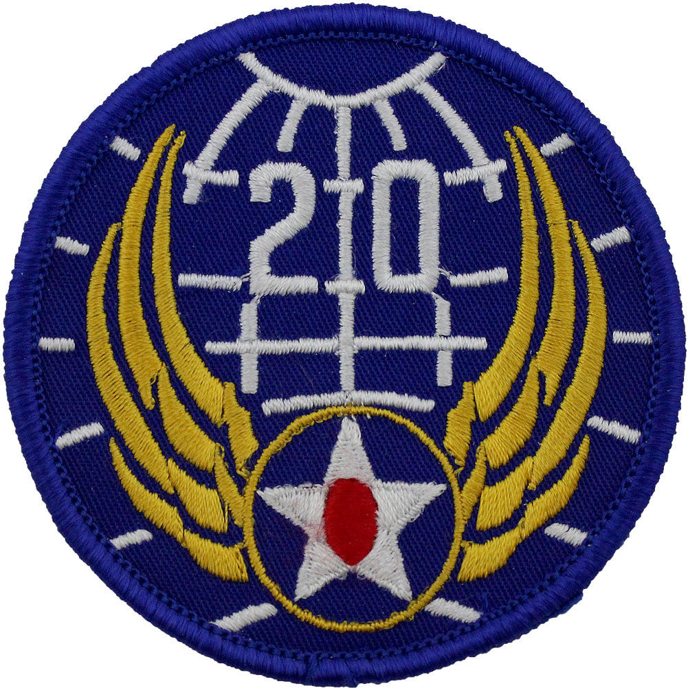 WWII Army Air Corps 20th Air Force Class A Patch