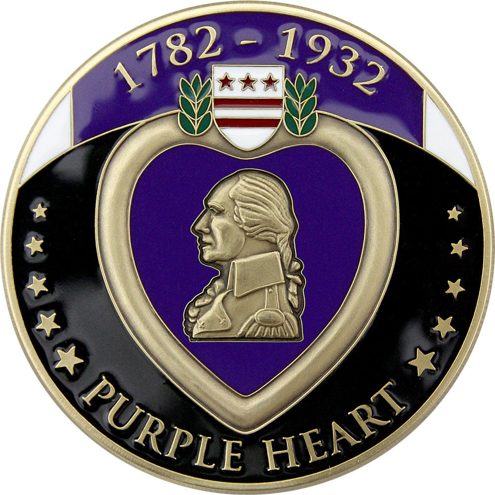 Purple Heart Coin - Front