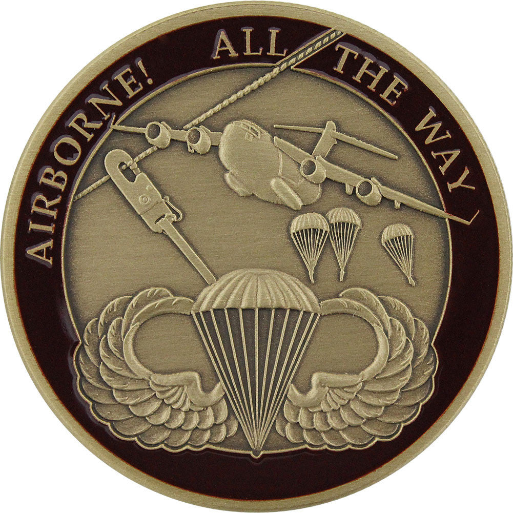U.S. Army Airborne Coin - Front