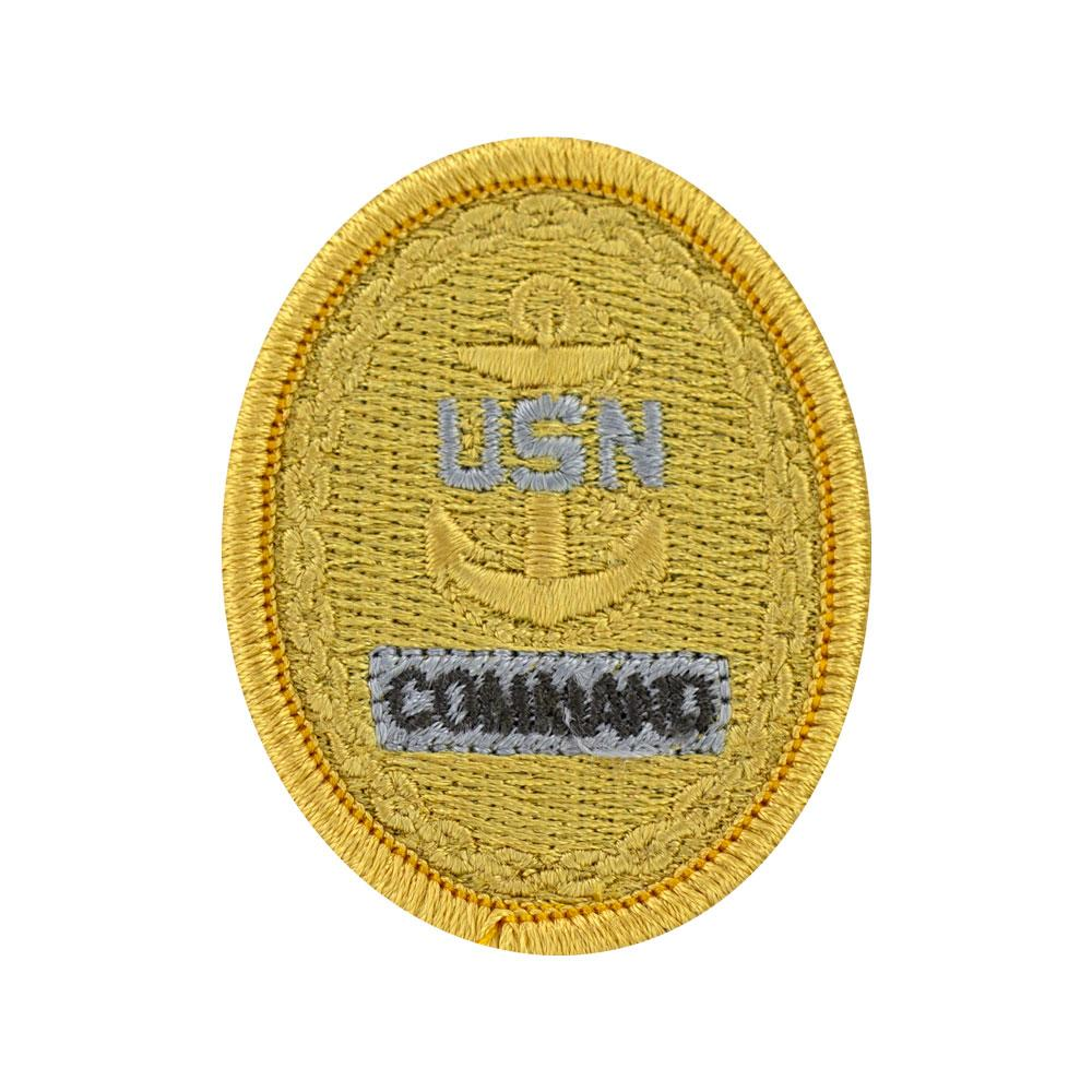 Navy Embroidered Blue Digital Badges
