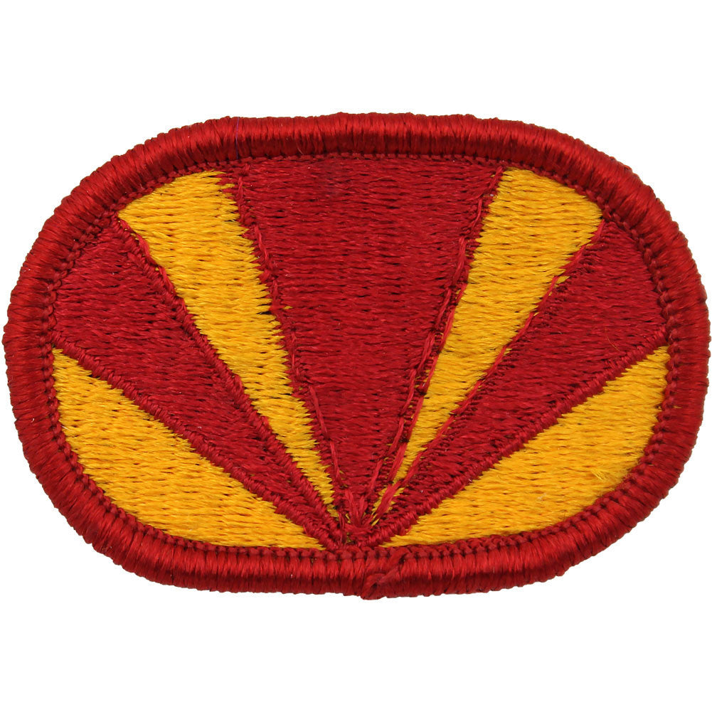 U.S. Army 4th Air Defense Artillery (ADA) 3rd Battalion Oval Patch