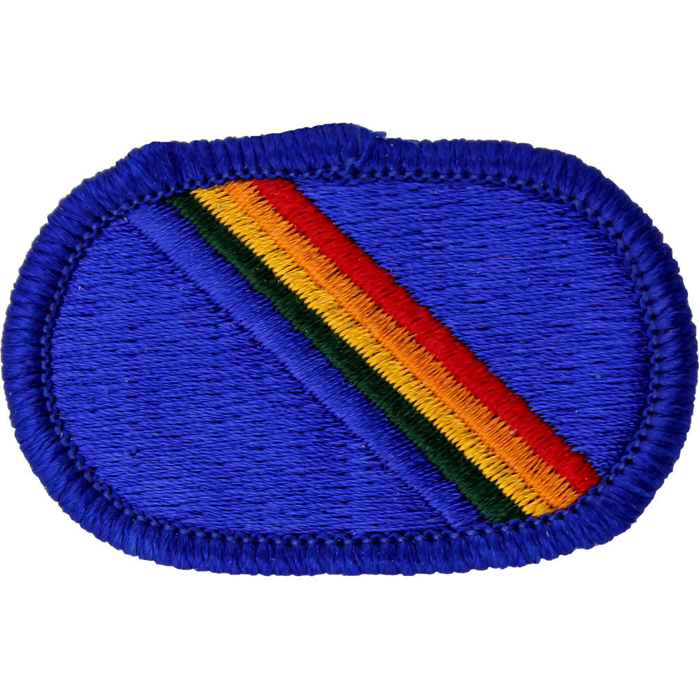 U.S. Army 7th Special Operations Support Command Oval Patch