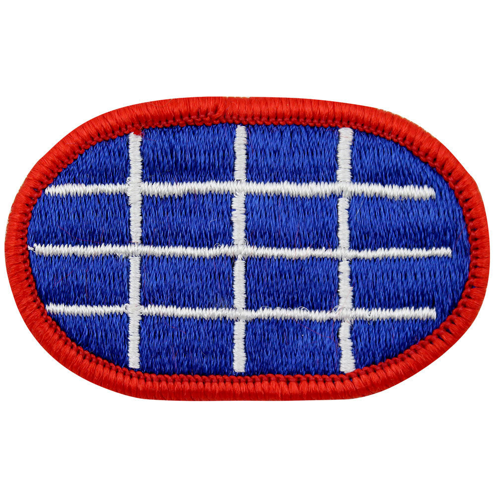 U.S. Army 10th Military Police Detachment Oval Patch