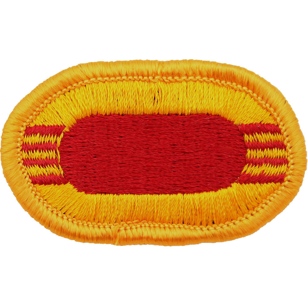 U.S. Army 11th Field Artillery 4th Battalion C Battery Oval Patch