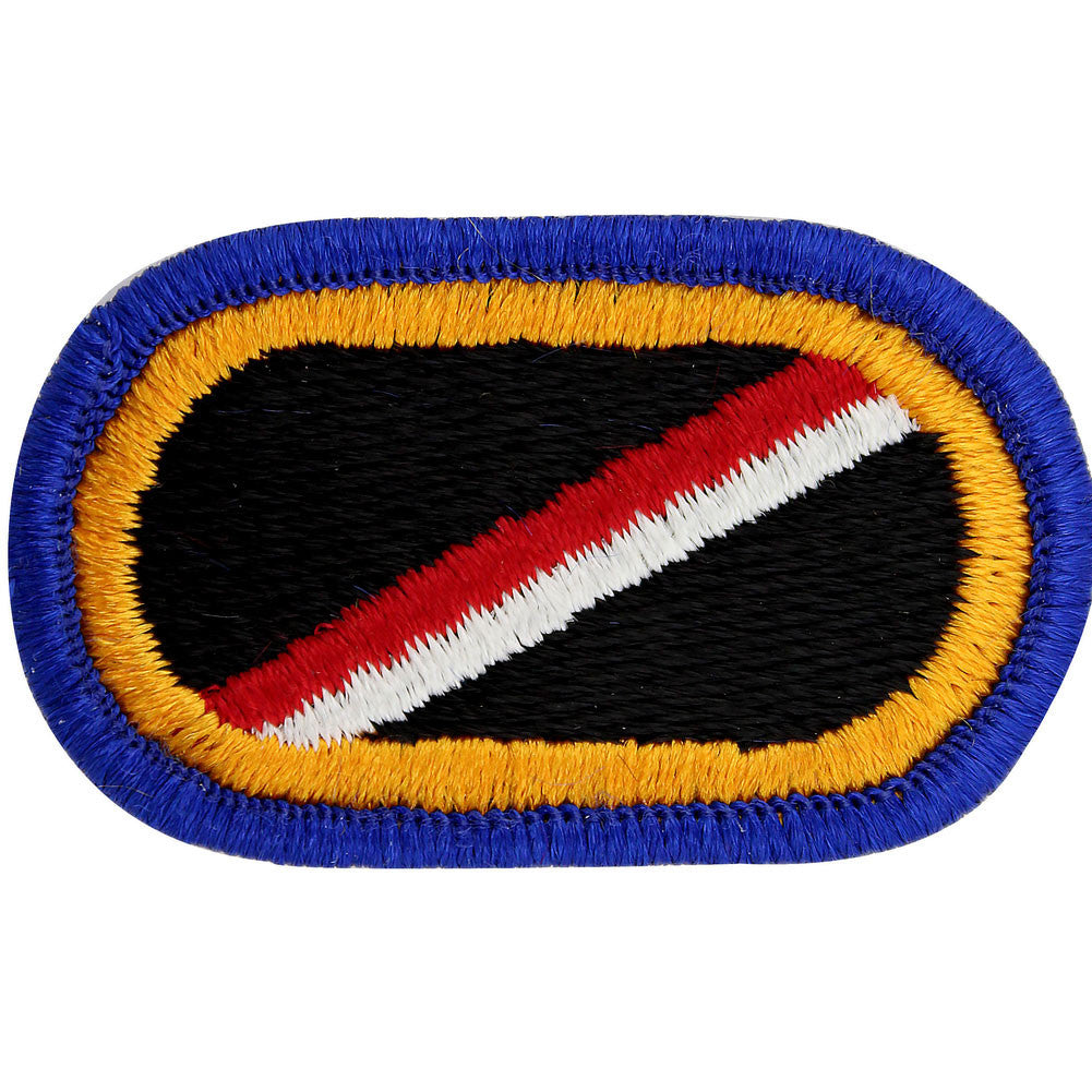 U.S. 18th Cavalry 1st Squadron E Troop Oval Patch