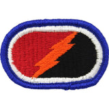 U.S. Army 25th Infantry Division 4th Brigade Special Troops Battalion Oval Patch