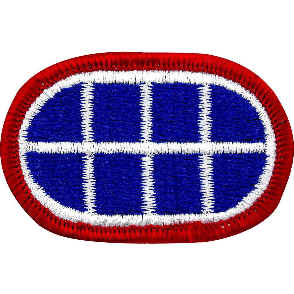 U.S. Army 1st Military Police Detachment (CID) Oval Patch