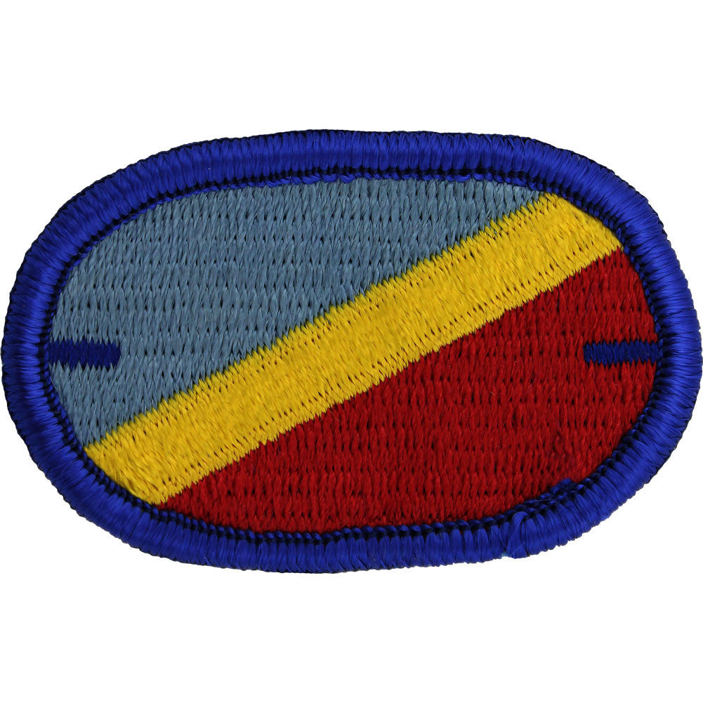 U.S. Army 82nd Aviation Brigade 1st Battalion Oval Patch