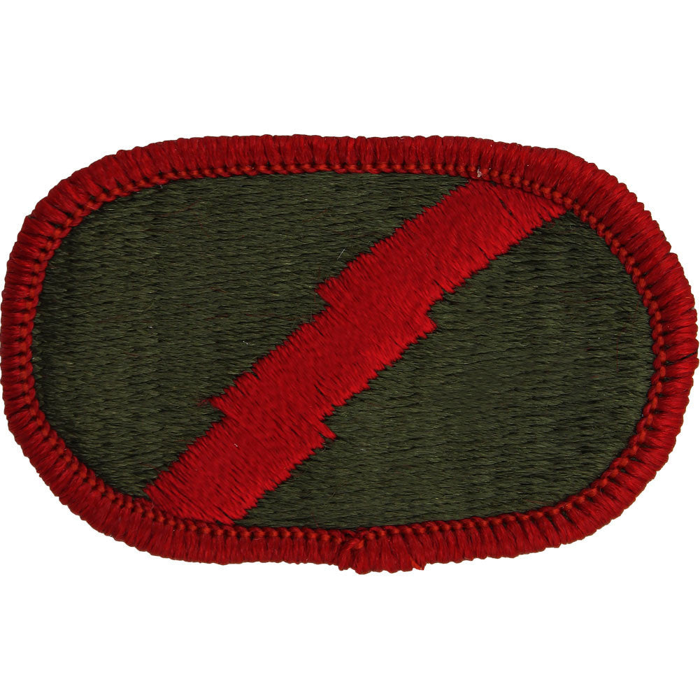 U.S. Army 101st Military Intelligence Battalion D Company LRSD Oval Patch