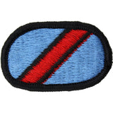 U.S. Army 107th Military Intelligence Battalion LRSD Oval Patch