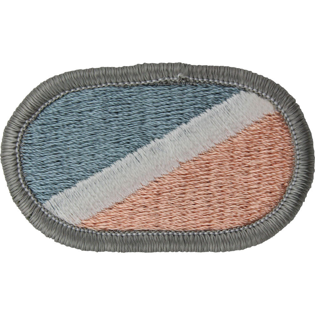 U.S. Army 122nd Infantry H Company (LRSU) Oval Patch