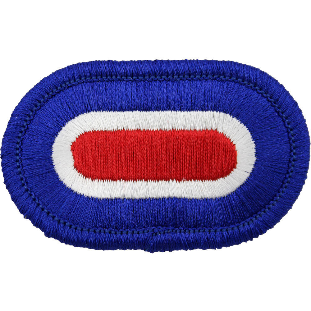 U.S. Army 187th Infantry Headquarters Oval Patch