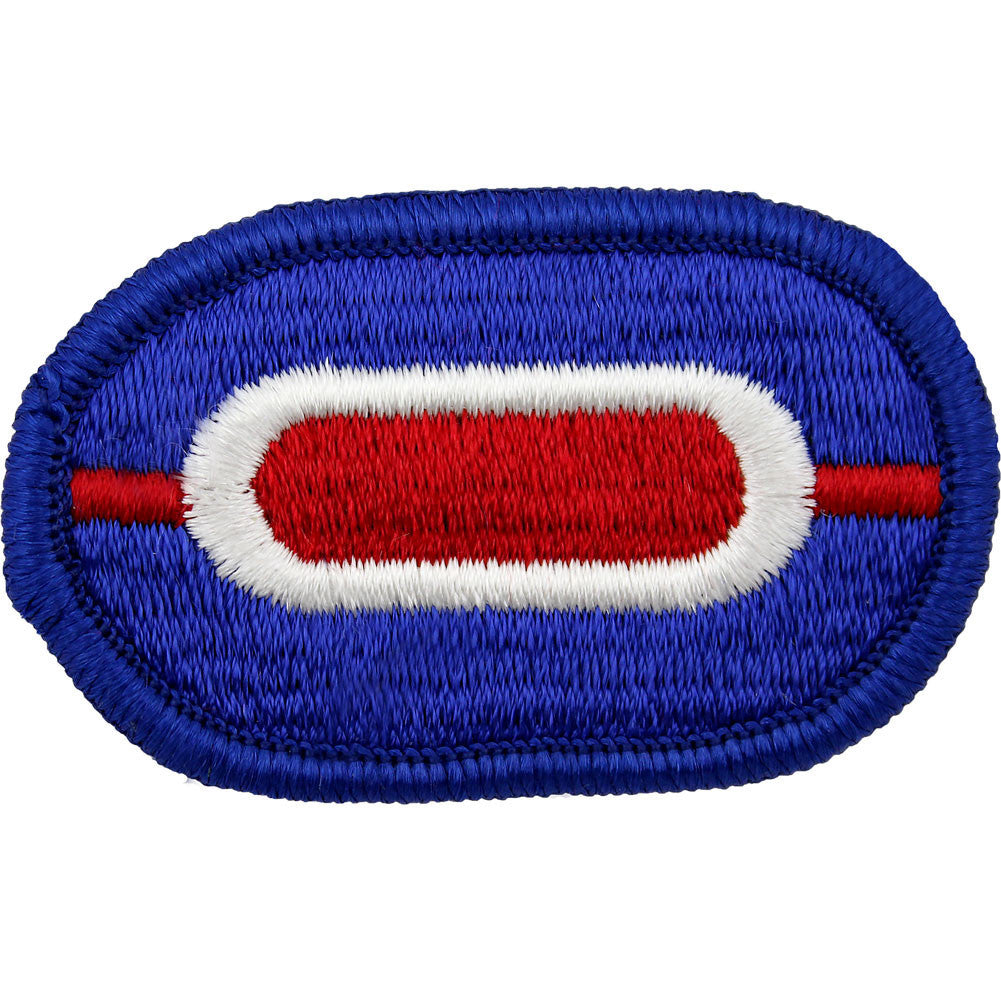 U.S. Army 187th Infantry Regiment 1st Battalion Oval Patch