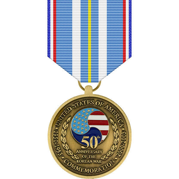Korean War 50th Anniversary Commemorative Medal