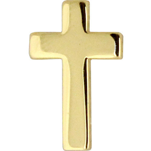 Chaplain-Christian Collar Device - Gold